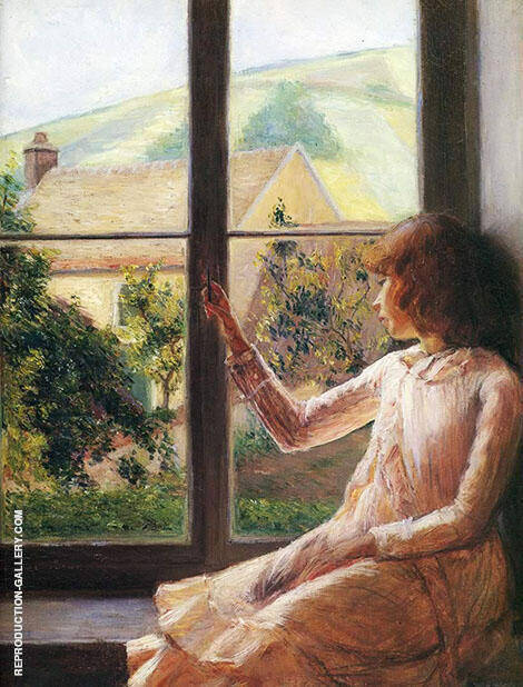 Child At the Window 1891 By Lilla Cabot Perry