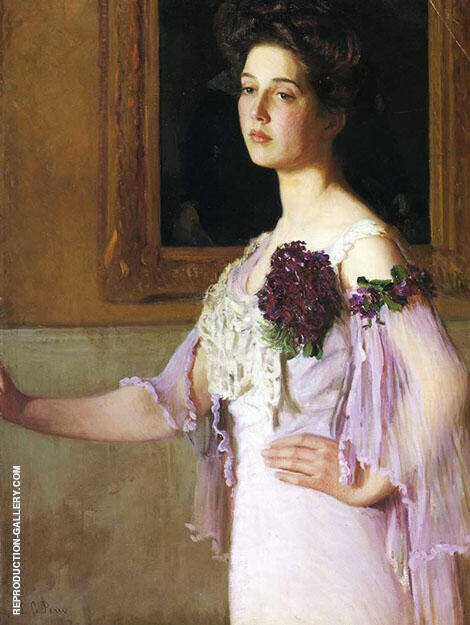 Alice Grew 1904 By Lilla Cabot Perry