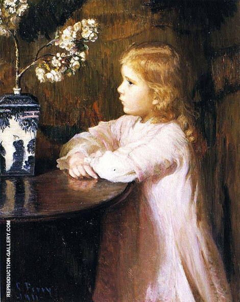 Cherry Blossoms 1891 By Lilla Cabot Perry