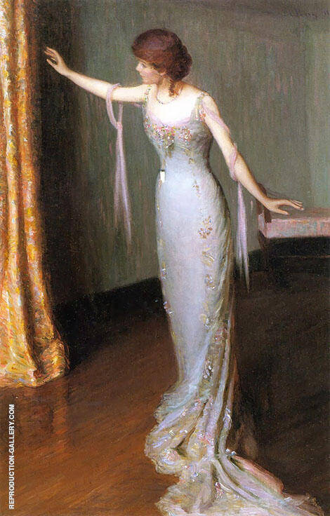 Lady in an Evening Dress 1911 By Lilla Cabot Perry