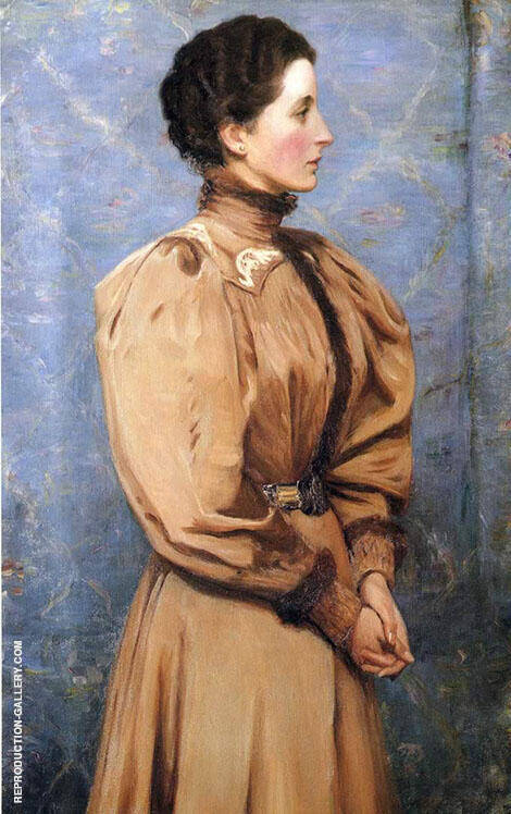 Portrait of Baronesss von R 1895 By Lilla Cabot Perry