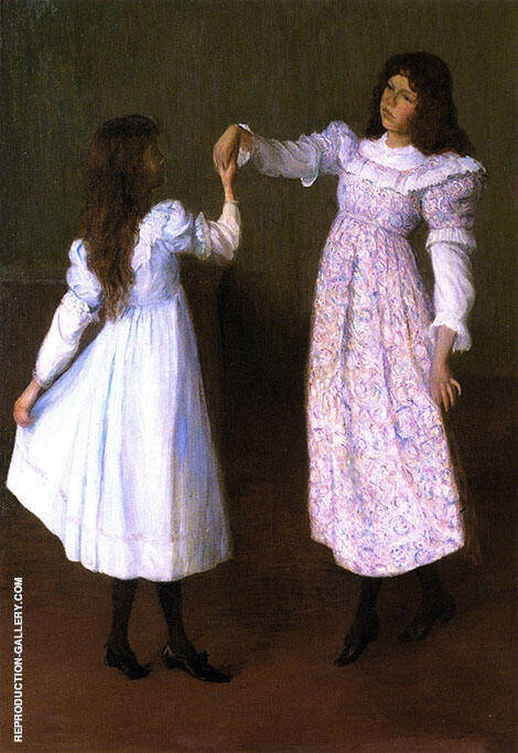 Children Dancing II 1895 By Lilla Cabot Perry