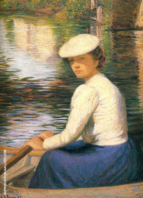In a Boat 1907 By Lilla Cabot Perry
