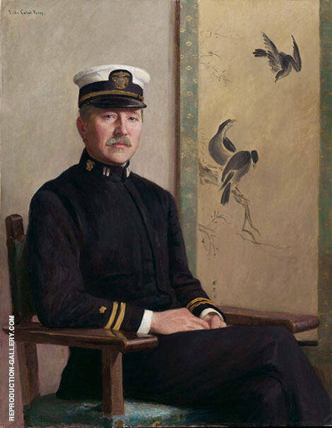 Portrait of Godfrey Lowell-Cabot 1916 By Lilla Cabot Perry