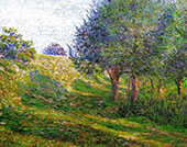 Late Afternoon Giverny By Lilla Cabot Perry