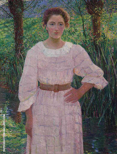 By the Brook Giverny By Lilla Cabot Perry