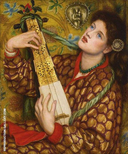 A Christmas Carol By Gabriel Dante Rossetti