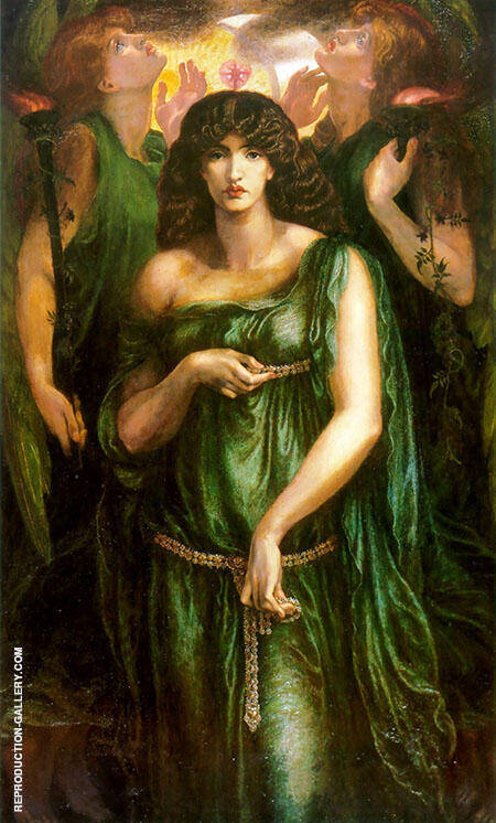Astarte Syriaca Painting By Gabriel Dante Rossetti - Reproduction Gallery