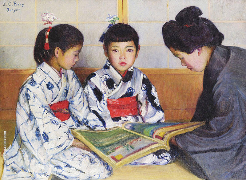Japanese Children and the Picture Book By Lilla Cabot Perry