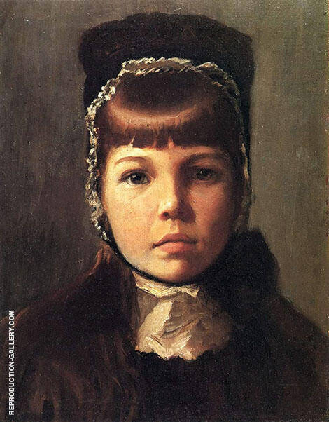 Margaret Perry with a Bonnet By Lilla Cabot Perry