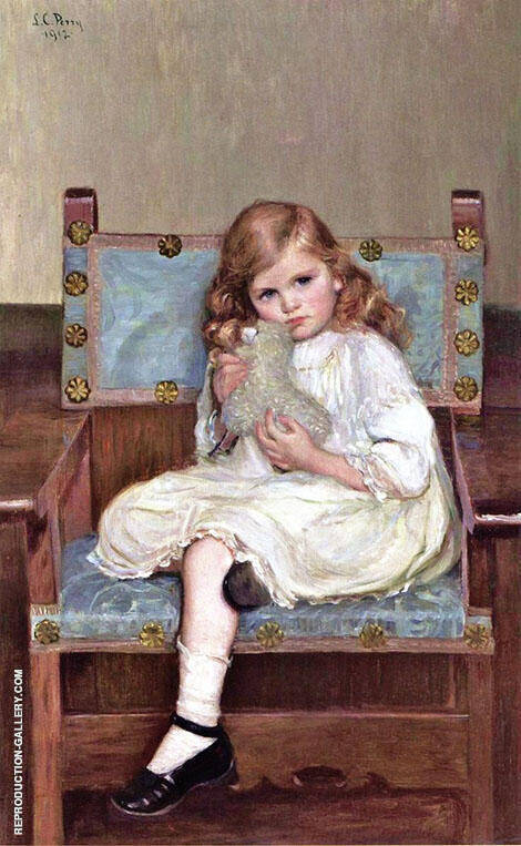 My Lamb c1912 By Lilla Cabot Perry