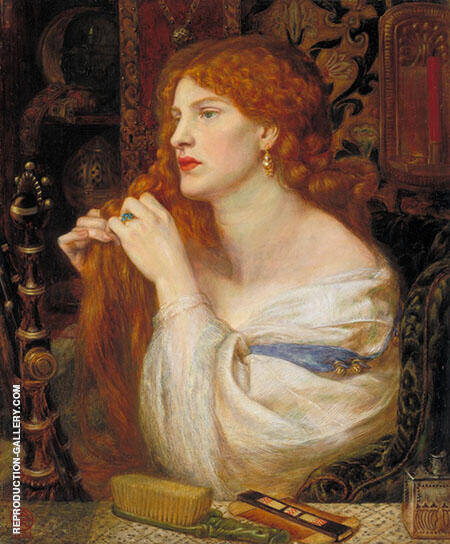 Aurelia Painting By Gabriel Dante Rossetti - Reproduction Gallery