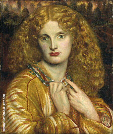Helen of Troy 1863 By Gabriel Dante Rossetti