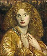 Helen of Troy 1863 By Dante Gabriel Rossetti