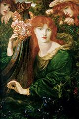 La Ghirlandata 1871 By Dante Gabriel Rossetti