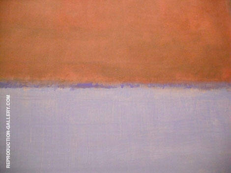 Purple Line By Mark Rothko (Inspired By)