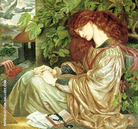 La Pia de Tolomei By Gabriel Dante Rossetti