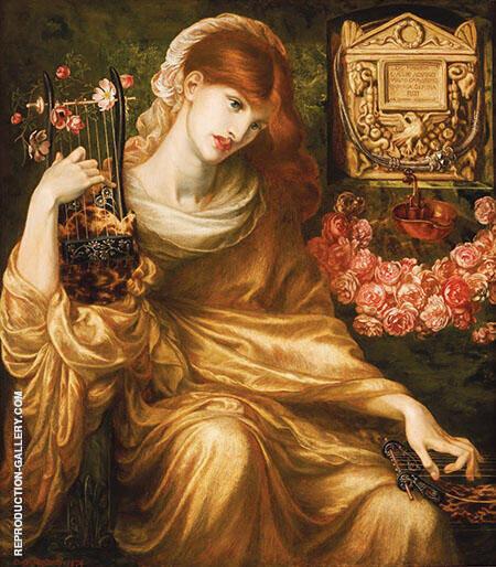 La Viuda Romana By Gabriel Dante Rossetti