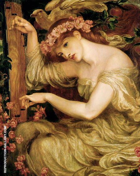 A Sea Spell 1877 By Gabriel Dante Rossetti