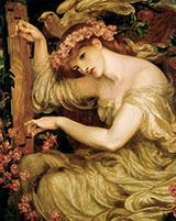 A Sea Spell 1877 By Dante Gabriel Rossetti