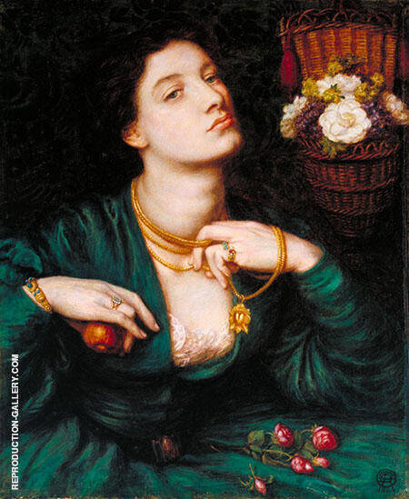 Monna Pomona 1864 Painting By Gabriel Dante Rossetti