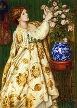 Monna Rosa 1867 By Dante Gabriel Rossetti