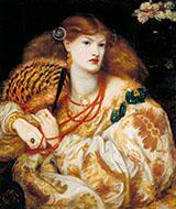 Monna Vanna 1866 By Dante Gabriel Rossetti