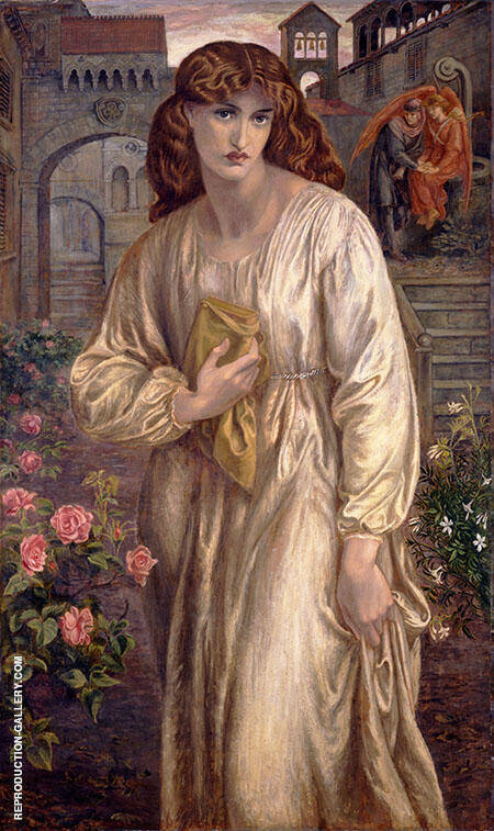 Salutation of Beatrice By Gabriel Dante Rossetti