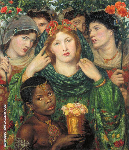 The Beloved By Gabriel Dante Rossetti