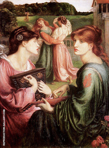 The Bower Meadow By Gabriel Dante Rossetti