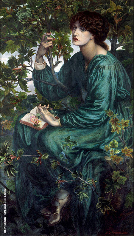 The Day Dream By Gabriel Dante Rossetti