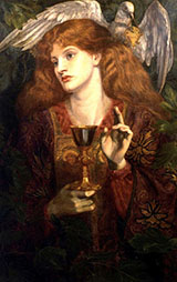 The Holy Grail By Dante Gabriel Rossetti