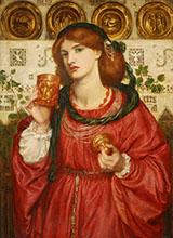 The Loving Cup 1867 By Dante Gabriel Rossetti