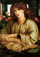 The Women's Window 1879 By Dante Gabriel Rossetti