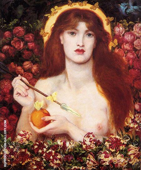 Venus Verticordia 1868 By Gabriel Dante Rossetti