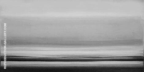 Monochrome Landscape By Mark Rothko (Inspired By)