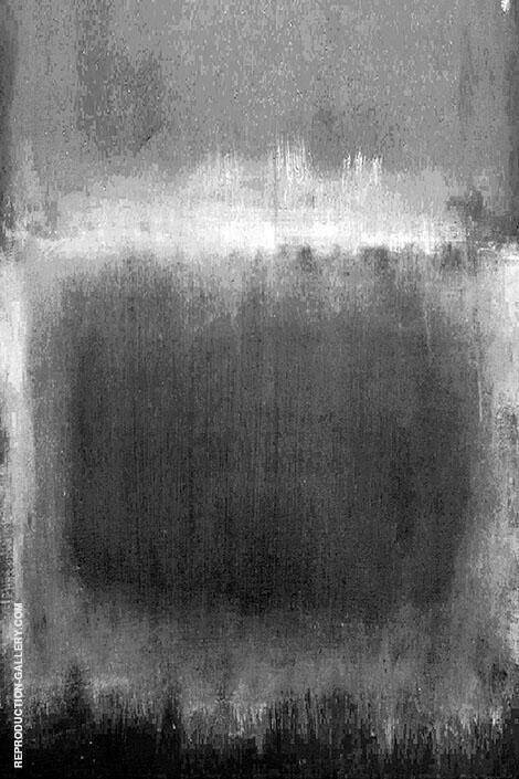 Monochrome Square By Mark Rothko (Inspired By)