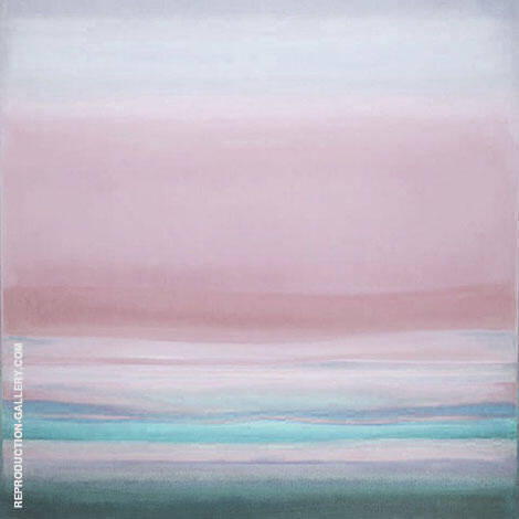Square Sunrise By Mark Rothko (Inspired By)