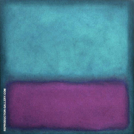Purple Aqua By Mark Rothko (Inspired By)