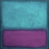Purple Aqua By Mark Rothko (Inspired By)
