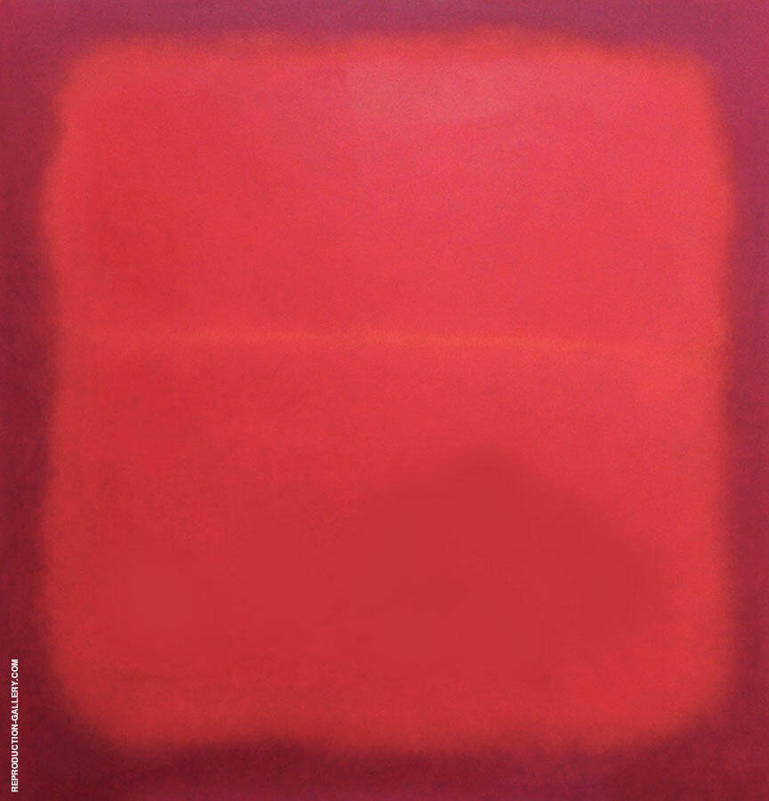 Red Divided By Mark Rothko (Inspired By)