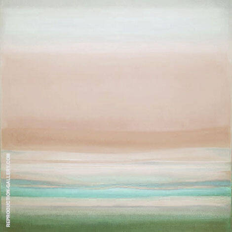 no 17 B Square By Mark Rothko (Inspired By) Replica Paintings on Canvas - Reproduction Gallery