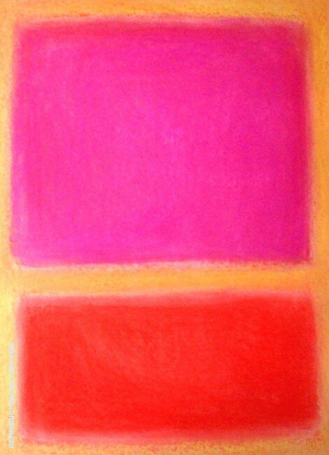 Untitled 12 By Mark Rothko (Inspired By)
