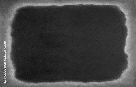 Black and White 18L By Mark Rothko (Inspired By)