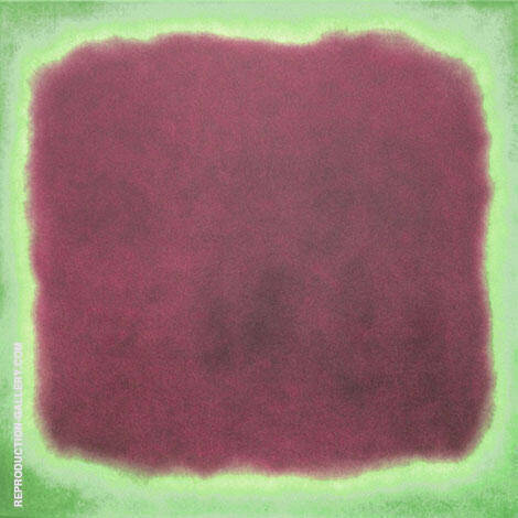 Plum and Green By Mark Rothko (Inspired By)