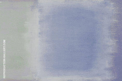 Sage and Blue By Mark Rothko (Inspired By)