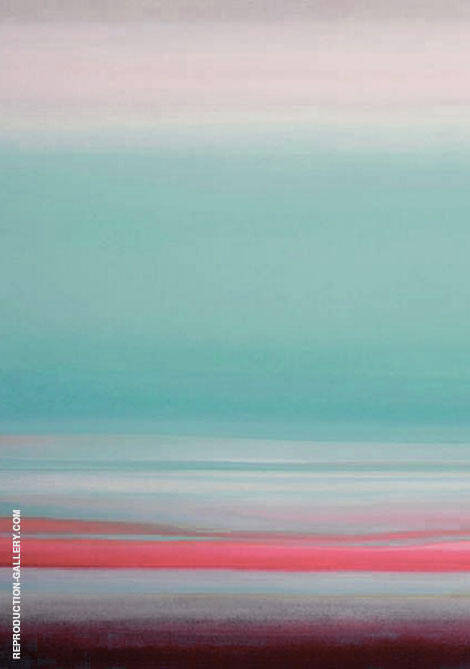 Morning Sky P Painting By Mark Rothko (Inspired By) - Reproduction Gallery