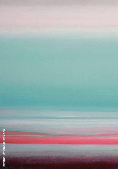 Morning Sky P By Mark Rothko (Inspired By)