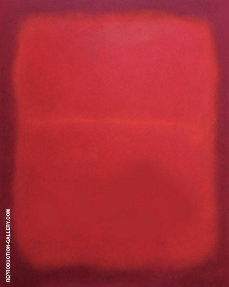 Red Divided P2 By Mark Rothko (Inspired By)