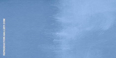Untitled Blue Wash By Mark Rothko (Inspired By)